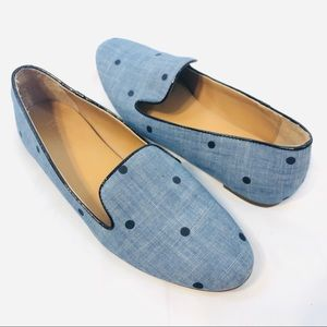 J. Crew Chambray Loafers